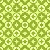 Diamentu wzoru zieleni graficznego projekta wektorowa abstrakcja Zdjęcia Royalty Free