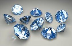 diamenty Zdjęcie Stock
