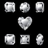 diamenty Zdjęcia Stock