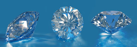 diamenty Obraz Royalty Free