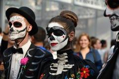 Diameter de los Muertos karneval Fotografering för Bildbyråer