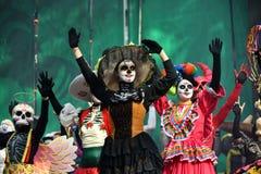 Diameter de los Muertos karneval död dag Royaltyfri Foto