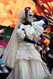 Diameter de los Muertos karneval död dag Royaltyfri Fotografi