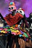 Diameter de los Muertos karneval död dag Fotografering för Bildbyråer