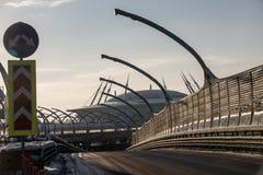 Diametro ad alta velocità occidentale, gara motociclistica su pista Fotografia Stock Libera da Diritti