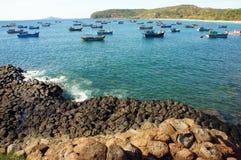 Diametro di Ganh Da, Vietnam, roccia, mare, viaggio, Vietnam Immagini Stock