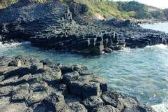 Diametro di Ganh Da, Vietnam, roccia, mare, viaggio, Vietnam Immagine Stock Libera da Diritti