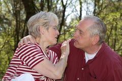 Diami un bacio Fotografie Stock