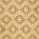 Diamon senza cuciture della verifica degli antecedenti di retro del sughero lerciume marrone di struttura illustrazione vettoriale