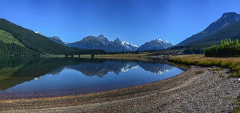 Diamond湖新西兰 库存图片
