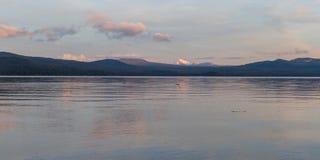 Diamond湖,俄勒冈 库存图片