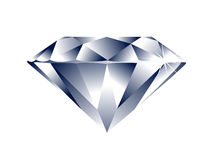 Diamond. Illustration of a diamond created in illustrator software