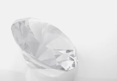 Diamond. On a white background royalty free stock images