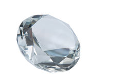 Diamond. Isolated on white background Royalty Free Stock Photo