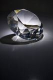 Diamond. Big diamond with reflections around it Royalty Free Stock Photos