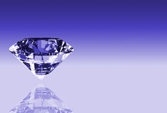 Diamond. Illustration showing the most perfect and valuable gem: diamond royalty free illustration