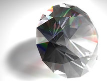 Diamond. Birthstone for April- diamond stock image