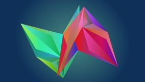 Diamond Abstract Triangle illustration de vecteur