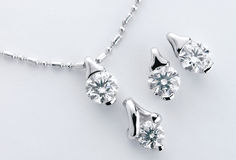 Diamond accessory Royalty Free Stock Images