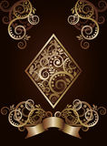 Diamond  ace poker playing cards Royalty Free Stock Photos