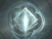 Diamond And Water Ripples Stock Images