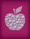 Diamond apple Stock Photos