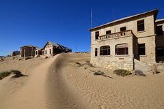 Diamond area Kolmanskop Royalty Free Stock Photo