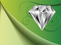 Diamond background Stock Images