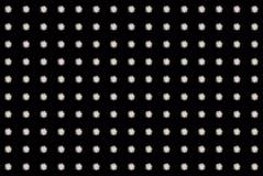 Diamond background. Round brilliant cut diamonds grid isolated on black background Royalty Free Stock Images