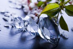 Diamond  background Royalty Free Stock Images