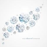Diamond background Royalty Free Stock Image