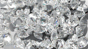 Free Diamond Background. Large Group Of Jewels Royalty Free Stock Images - 14705719