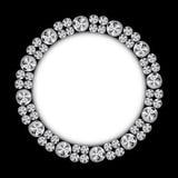 Diamond Background Vetora Illustration preto luxuoso abstrato Foto de Stock