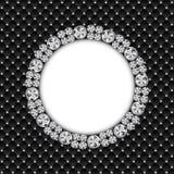 Diamond Background Vetora Illustration preto luxuoso abstrato Fotos de Stock Royalty Free