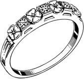 Diamond Band Royalty Free Stock Photo