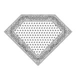 Diamond Bandana Stock Images