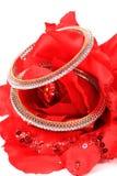 Diamond bangles Stock Image