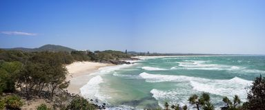 Diamond Beach Australia Panorama Royalty Free Stock Images