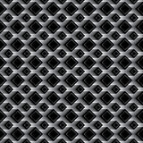Diamond black effect seamless pattern Royalty Free Stock Photo
