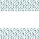 2 diamond borders. White background with 2 diamond borders Vector Illustration