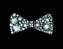 Diamond Bow Tie Stock Photography