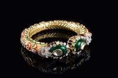 Diamond bracelet Royalty Free Stock Images