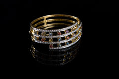 Diamond bracelet Royalty Free Stock Image