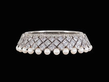 Diamond bracelet Stock Photography