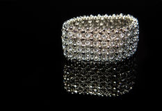 Diamond Bracelet Royaltyfria Bilder