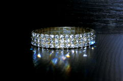 Diamond Bracelet Photographie stock