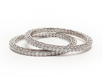 Diamond bracelet royalty free stock photo