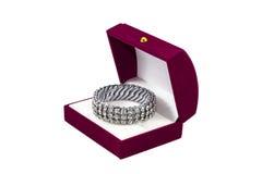 Diamond bracelet Stock Photography