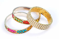Diamond bracelets Royalty Free Stock Photo