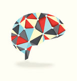 Diamond Brain Activity Royalty Free Stock Photography